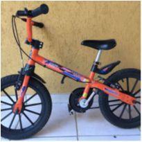 Bicicleta aro 16 com squeeze -  - Nathor