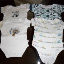 LOTE 4 BODYS - 6 a 9 meses - Bambini
