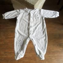 MACACÃO AZUL CLARO - 3 a 6 meses - Baby Classic