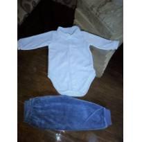 Body + calça - 3 a 6 meses - Paraíso
