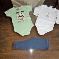 lote 3 peças YOYO - 3 a 6 meses - yoyo Baby