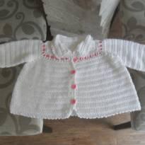 casaco feito a mão - 9 meses - Feito à mão