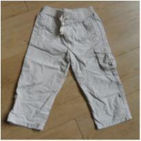 calça em sarja - 18 a 24 meses - sem etiqueta