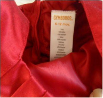 Vestido Festa Bordô - 1 ano - Gymboree