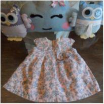 Vestido florido - 6 meses - Milon