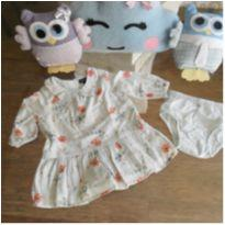 Vestido Baby Gap - 3 a 6 meses - Baby Gap