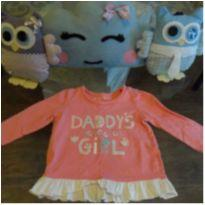 Blusa Rosa - 6 meses - NUTMEG