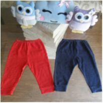 Lote calças bolinhas - 6 a 9 meses - Patimini