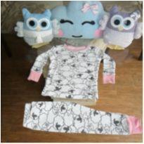 Pijama carter´s ovelha - 1 ano - Carter`s