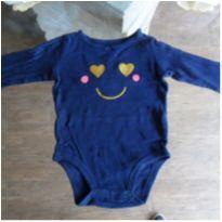 Body carter´s azul - 9 meses - Carter`s