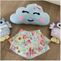 Short saia florido - 3 anos - Mon Sucré