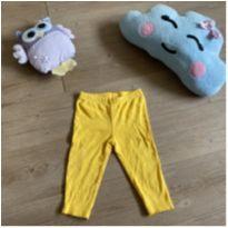 Calça amarela bolinha - 9 meses - Carter`s