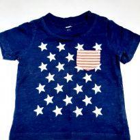 Camiseta Carter`s - 6 a 9 meses - Carter`s