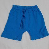 Shorts Azul - 6 a 9 meses - Baby
