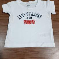 Camiseta Levis Branca - 9 a 12 meses - Levi`s