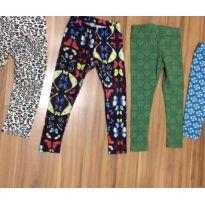 Lote leggings 4 anos