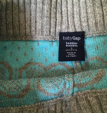 Calca de la Baby Gap - 3 anos - Baby Gap