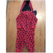 Pijama macacão ladybug - 3 anos - Cara de Criança