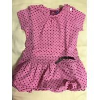 Vestido de bolinhas - 9 meses - Mercado Infantil