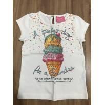 Blusa sorvete - 18 a 24 meses - Momi