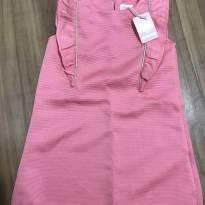 Vestido rosa - 2 anos - Baby Club