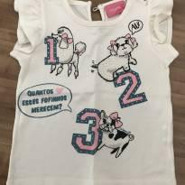 Blusa cachorrinhos - 9 a 12 meses - Momi