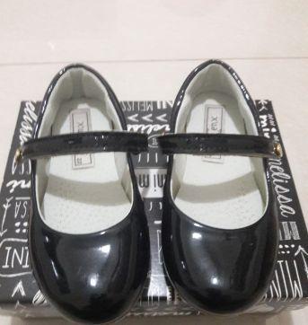 Sapato Verniz Boneca Preto - 22 - xuá xuá