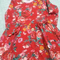 Vestido Manga Longa Marisol - 3 anos - Marisol