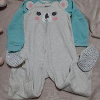 Pijama Macacão em Flace Carter`s - 5 anos - Carter`s