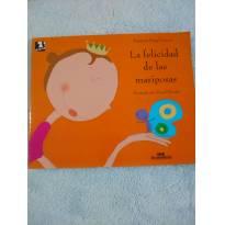 Livro La felicidad de Las mariposas - espanhol por Patrícia Engel Secco - Sem faixa etaria - Editora Melhoramentos