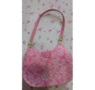 Bolsinha infantil rosa - Sem faixa etaria - Não informada
