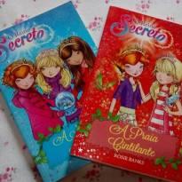 livros o reino secreto - dois livros! -  - Ciranda Cultural