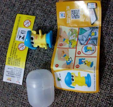 Brinquedinhos Kinder ovo - Sem faixa etaria - Kinder Ovo