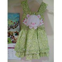 Vestido floridinho Cattai lindo ❤️❤️ - 0 a 3 meses - Cattai