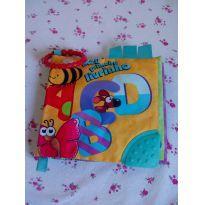 Livro de tecido Dican para bebê ❤️❤️ - Sem faixa etaria - Dican