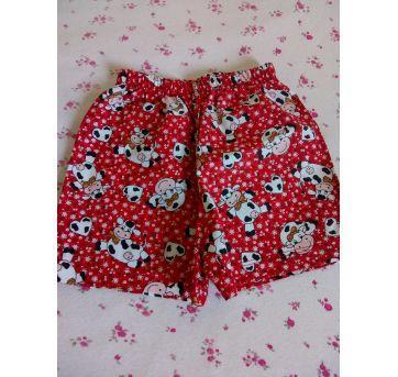 Shorts novo Vaquinhas tamanho m ❤️❤️ - 3 a 6 meses - Feito à mão