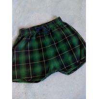 Shorts Green - 0 a 3 meses - Green