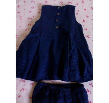Vestido de festa - Tommy Hilfiger - ❤️❤️ - 3 a 6 meses - Tommy Hilfiger