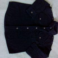 Camisa preta masculino infantil