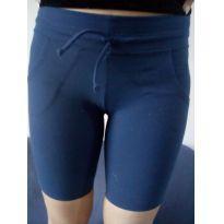 Shorts marca líquido - azul marinho desapego da Malu ❤️ - 13 anos - lIQUIDO