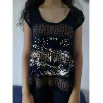 Camiseta pretinha - desapego da Malu ❤️ - 13 anos - Não informada