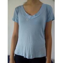 Camiseta azul céu desapego da Malu ❤️ - 13 anos - Não informada