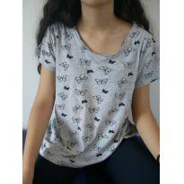 Camiseta borboletas desapego da Malu ❤️ - 13 anos - Primark