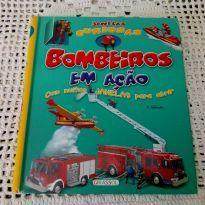 Livro Bombeiros em ação -  - Girassol, Editora e Editora Girassol
