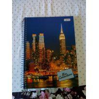 Caderno universitário 96 folhas - Sem faixa etaria - Não informada