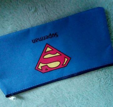 Estojo Superman - apenas 1 real. Novo - Sem faixa etaria - Importada