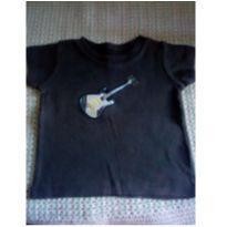 Camiseta guitarra Carter`s - 6 meses - Carter`s