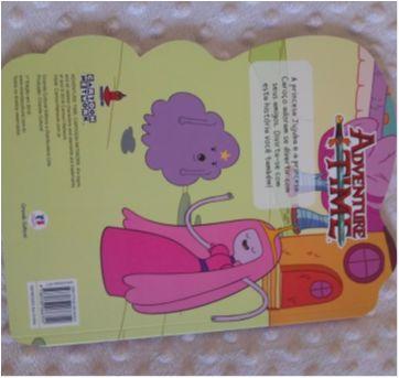 Livro adventure time No reino das Princesas - Princesa Jujuba - Sem faixa etaria - Ciranda Cultural