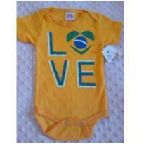 Body Love Brasil ❤️❤️ - 3 a 6 meses - Popcorn