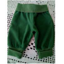 Calça Teddy Boom verde 0-3 meses - 0 a 3 meses - Teddy Boom